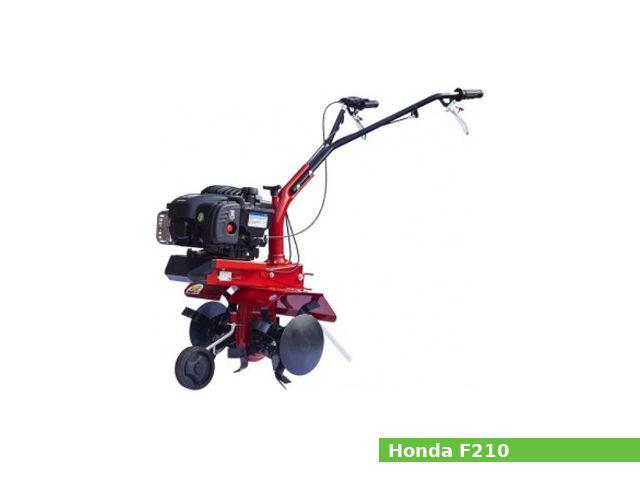 Honda F210 tiller / rotavator / cultivator: review, specs